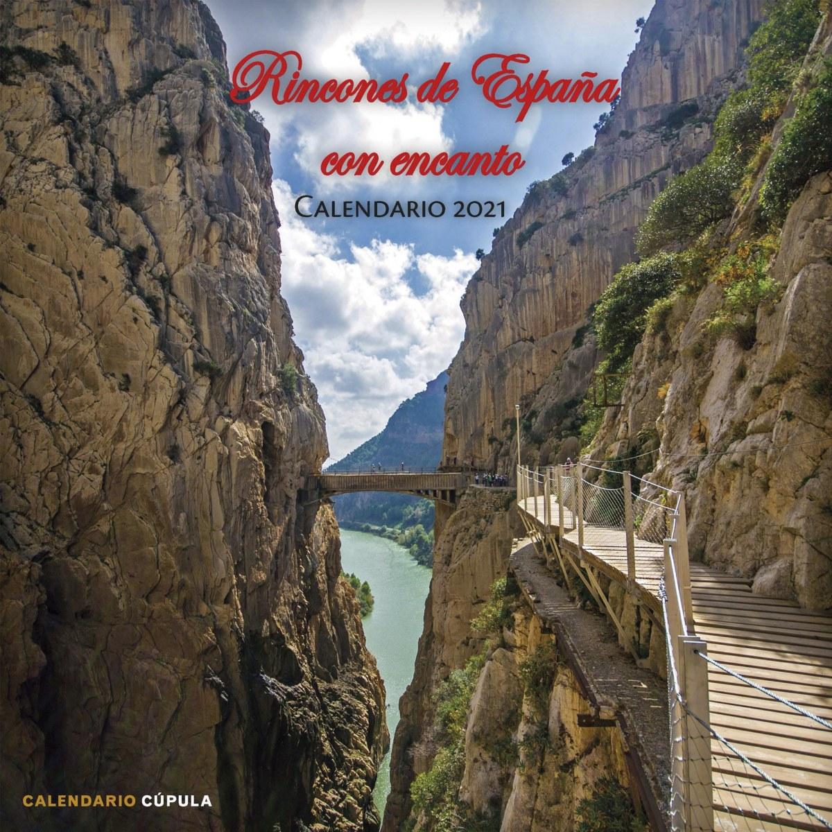 Calendario Rincones de España con encanto 2021