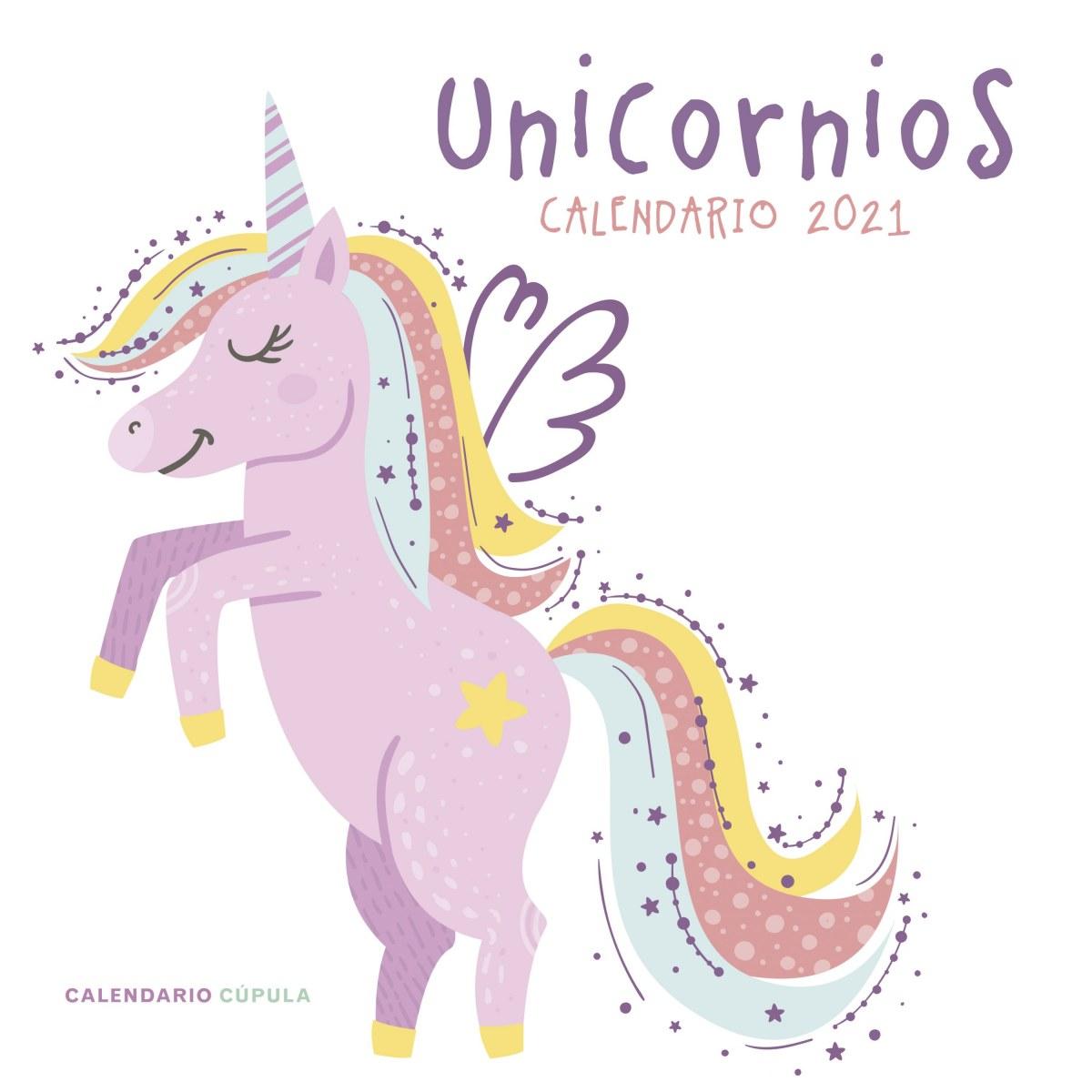 Calendario Unicornios 2021