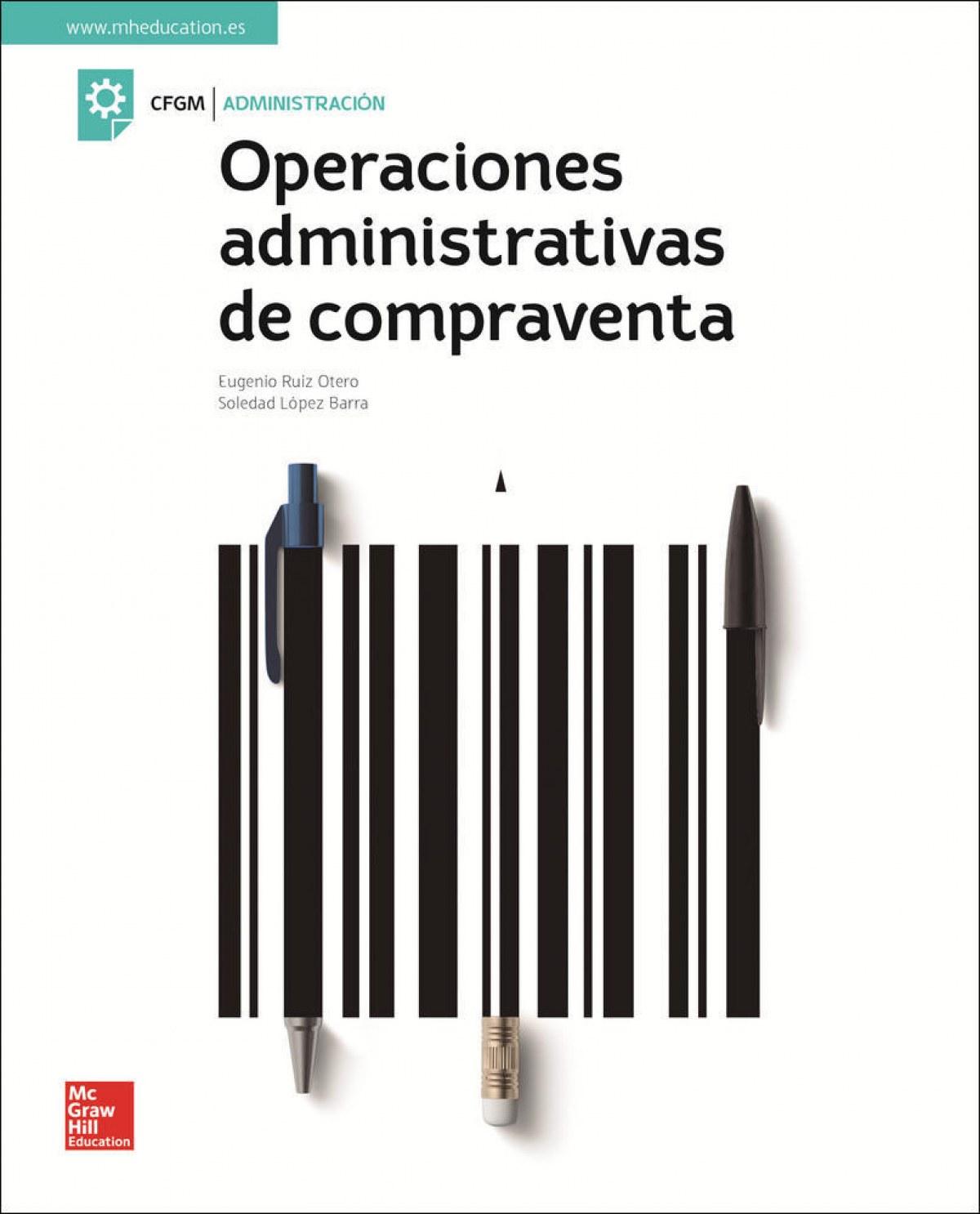 OPERACIONES ADMINISTRATIVAS DE COMPRAVENTA 9788448614195