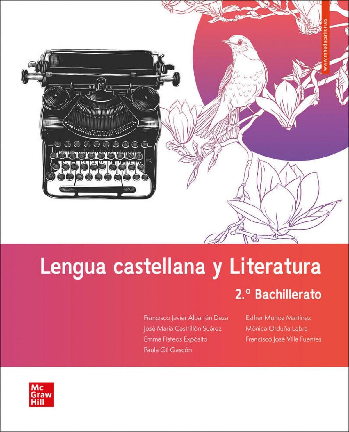 LA Lengua castellana y Literatura 2 BACH