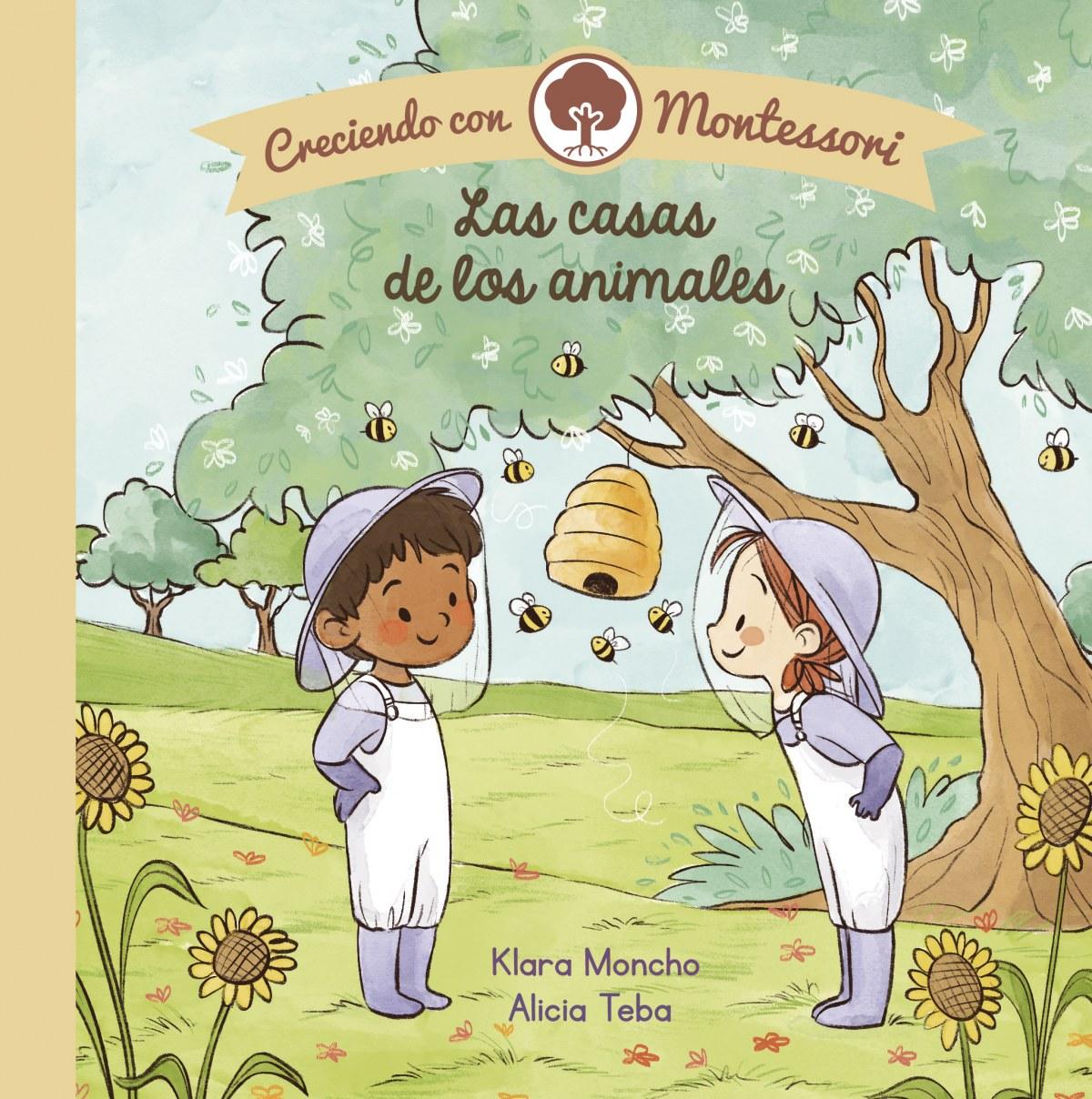 Las casas de los animales (Creciendo con Montessori. Pequeñas man