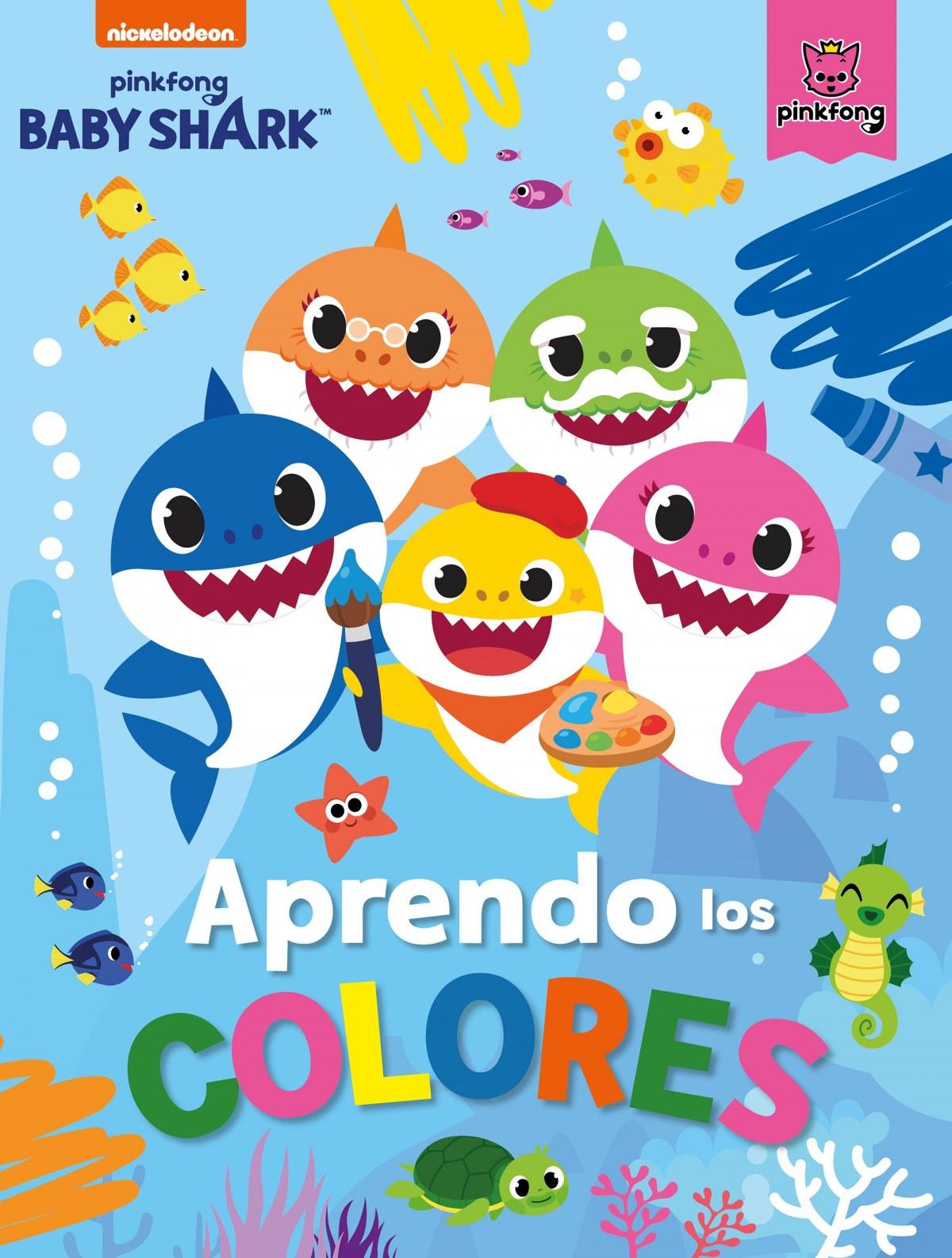 Aprendo los colores con Baby Shark (Baby Shark)
