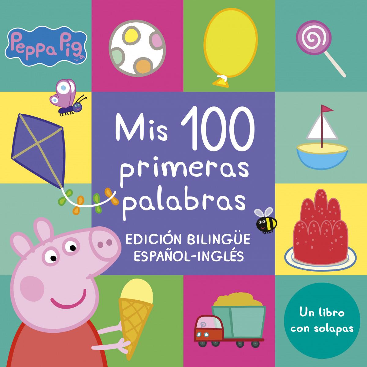 Mis 100 primeras palabras (Edición bilingüe) (Peppa Pig. Pequeñas manitas)