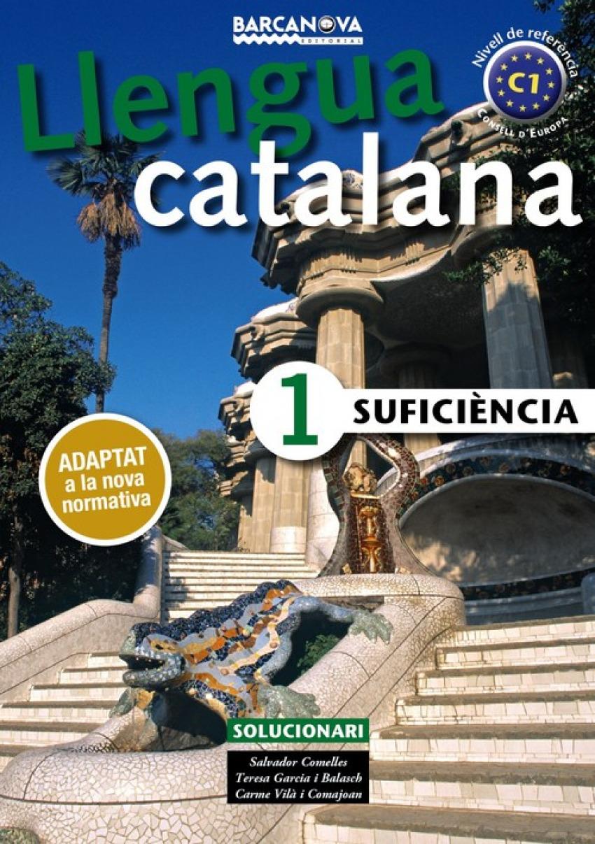 (CAT).SUFICIENCIA 1.SOLUCIONARI.LLENGUA CATALANA ADULTOS.(C