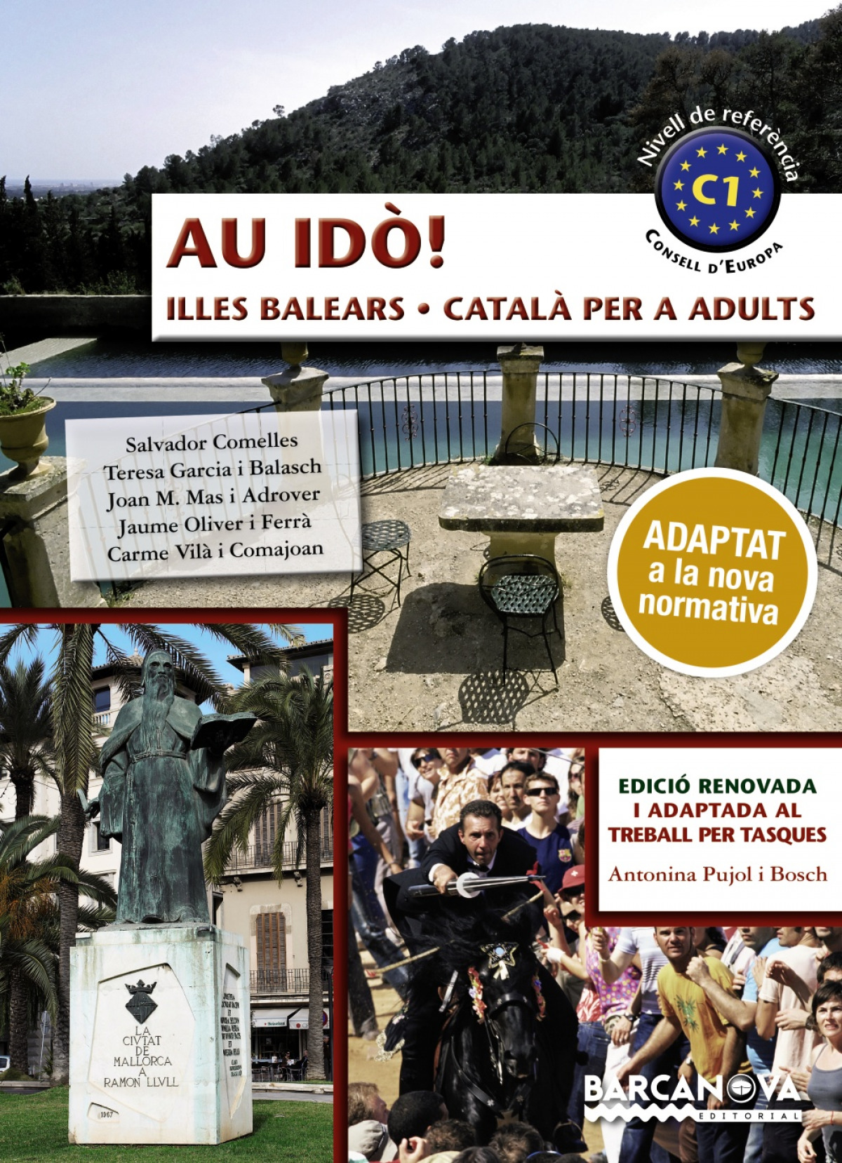 (BAL).AU IDO!.CATALA PER A ADULTS.(C1).ILLES BALEARS