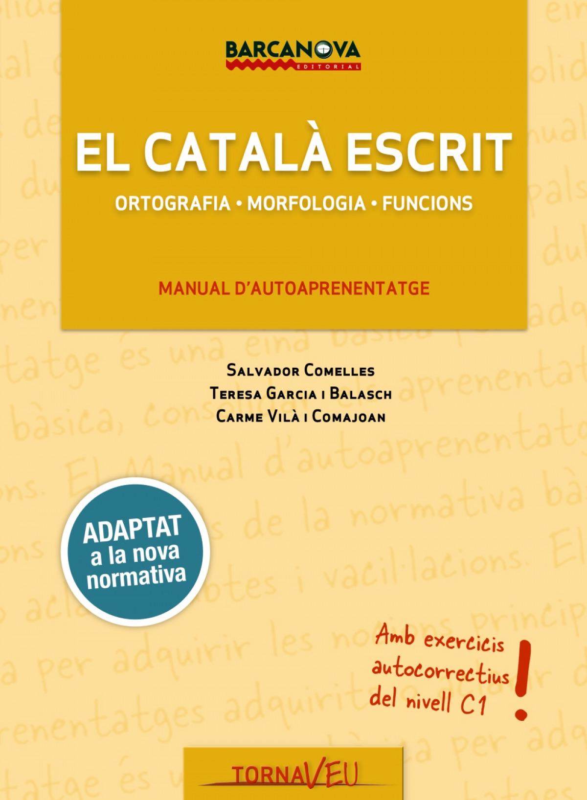 EL CATALÁ ESCRIT