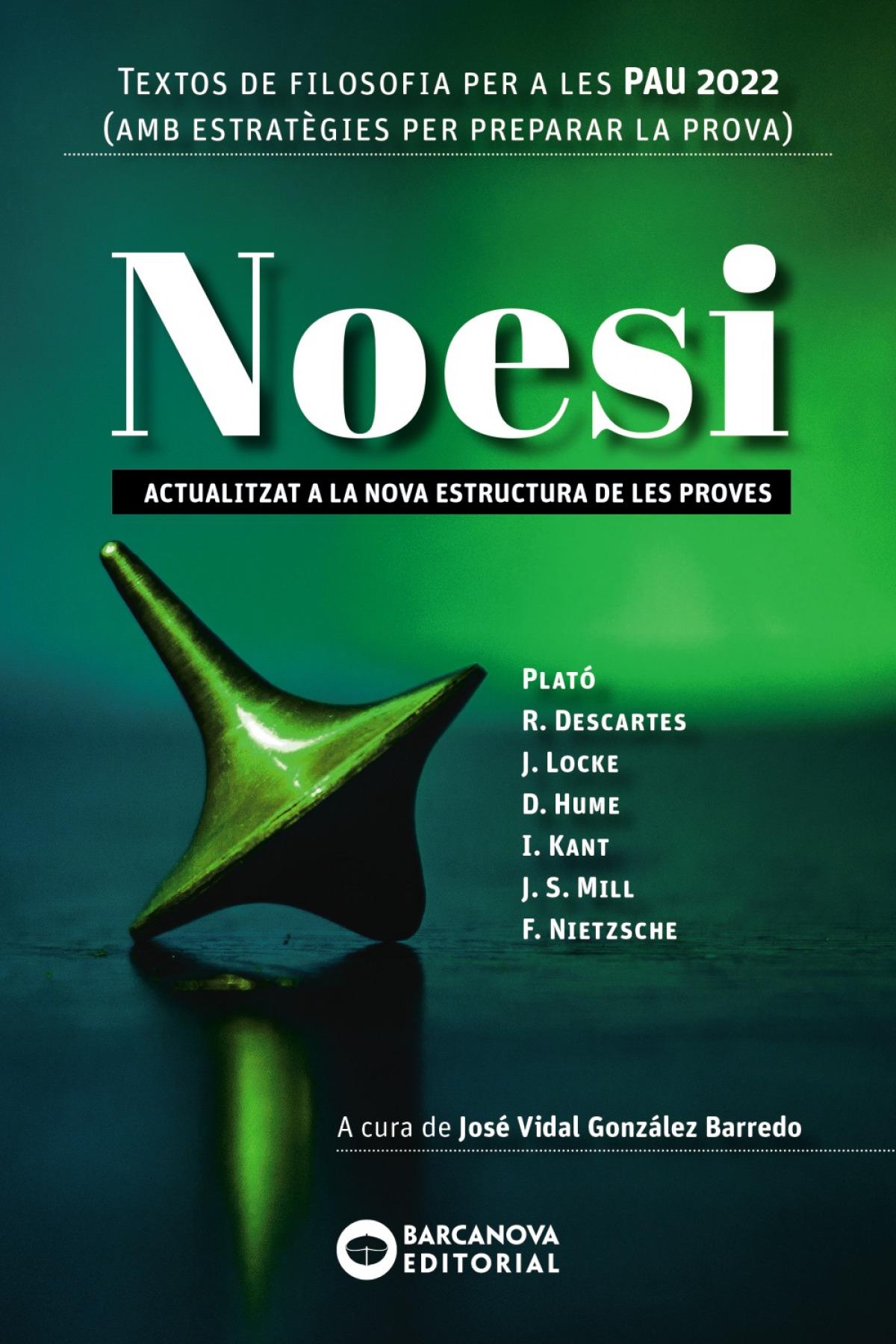 Noesi. Textos de filosofia per a les PAU 2022
