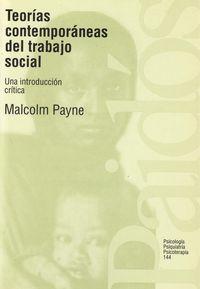 teorias contemporaneas del trabajo social malcolm payne