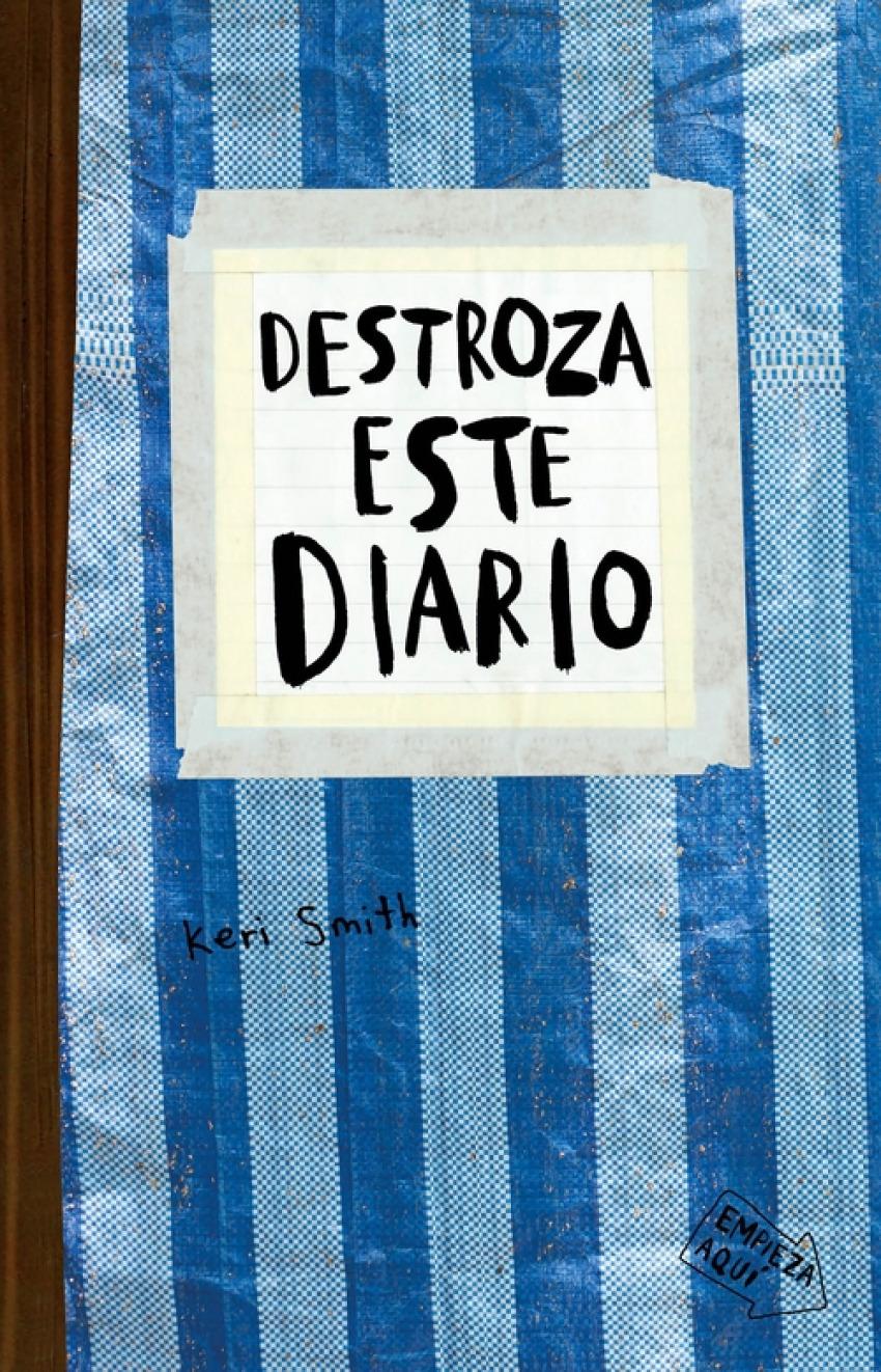 Destroza este diario. Azul