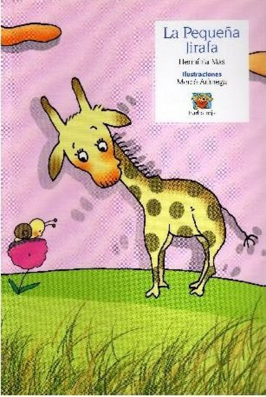 La pequeña jirafa