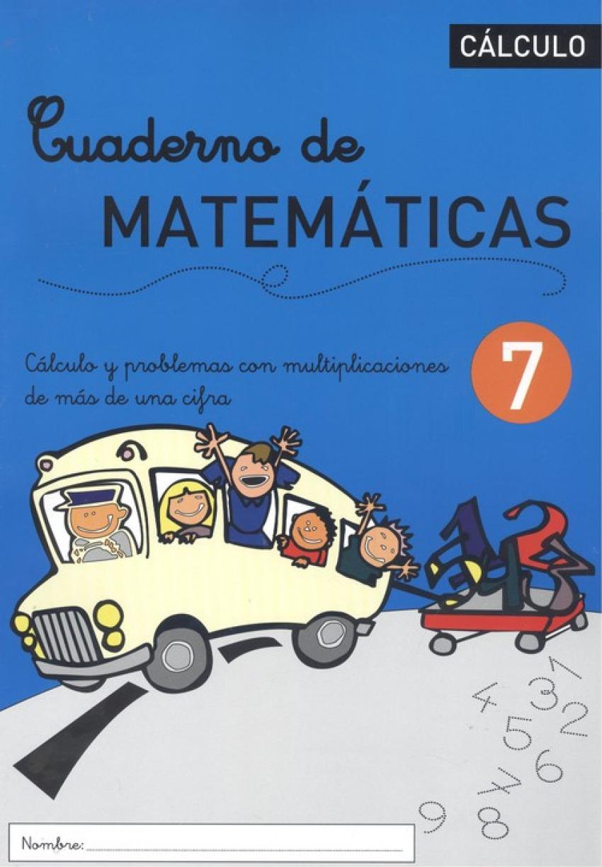 CUADERNO DE MATEMÁTICAS 7