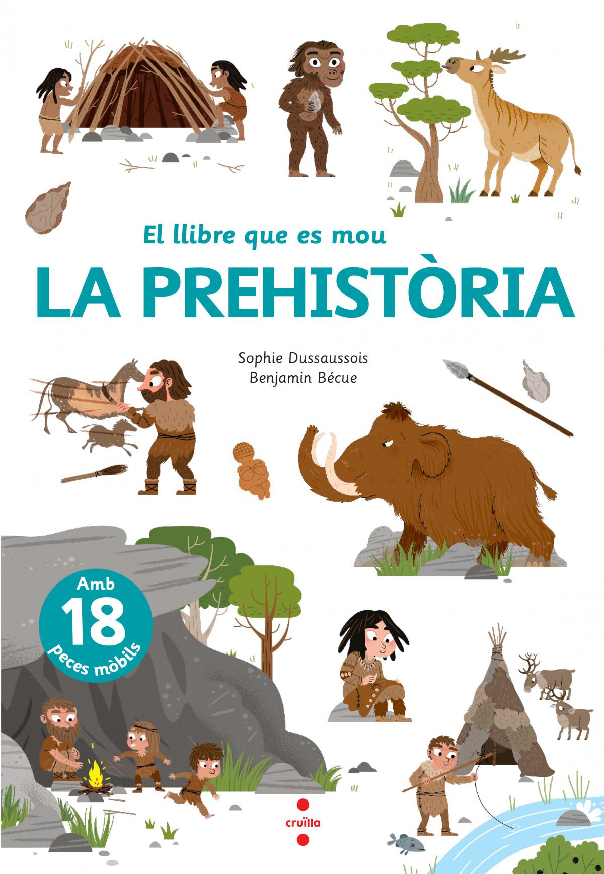 El llibre que es mou: La prehistòria