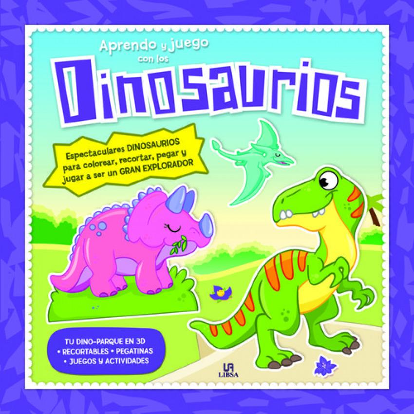 Aprendo y juego con los dinosaurios 9788466232180