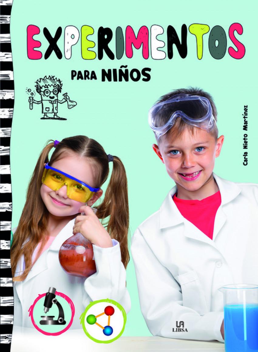 EXPERIMENTOS PARA NIñOS 9788466234283
