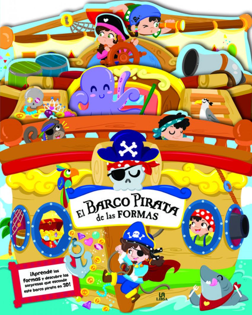 EL BARCO PIRATA DE LAS FORMAS 9788466234443