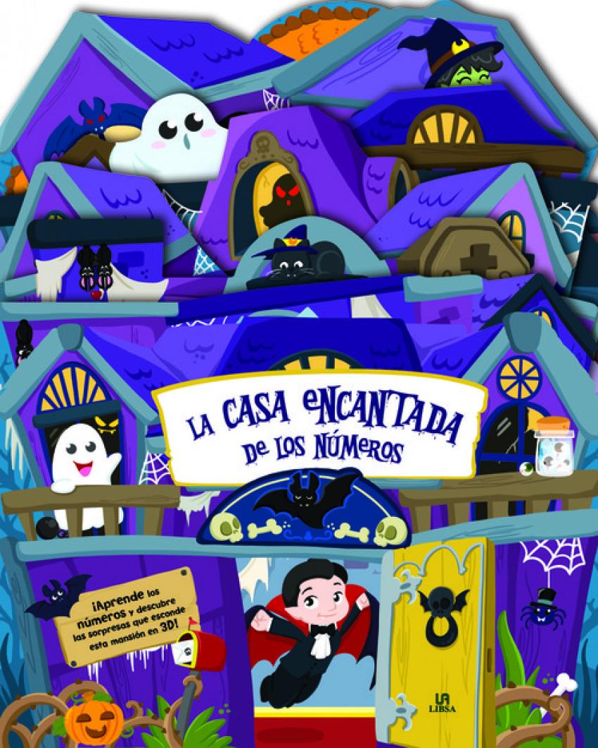 LA CASA ENCANTADA DE LOS N+MEROS 9788466234450