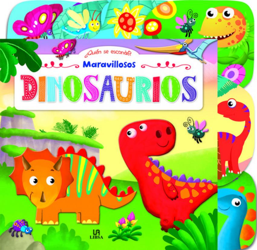 MARAVILLOSOS DINOSAURIOS 9788466234481