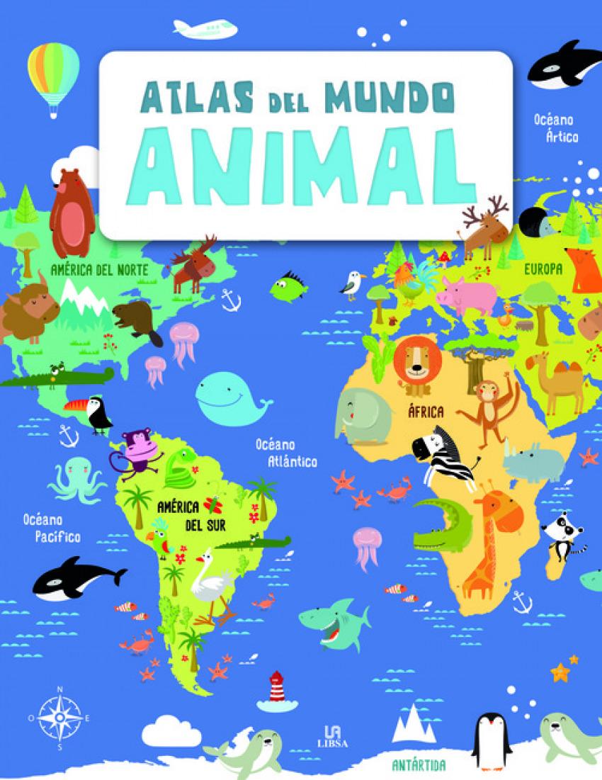ATLAS DEL MUNDO ANIMAL 9788466237314