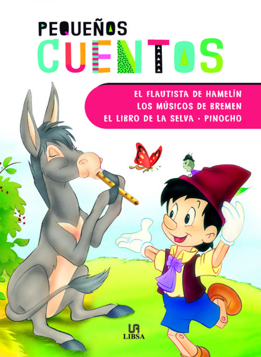 EL FLAUTISTA DE HAMELIN - LOS M+SICOS DE BREMEN - EL LIBRO DE LA SELVA 9788466237840