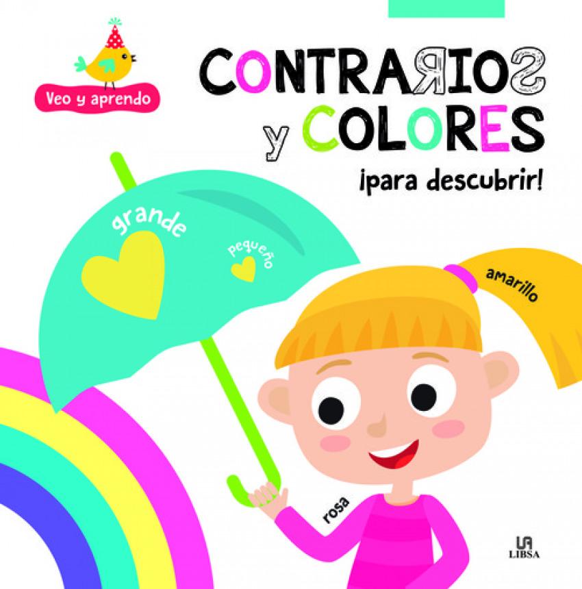 CONTRARIOS Y COLORES PARA DESCUBRIR 9788466238151