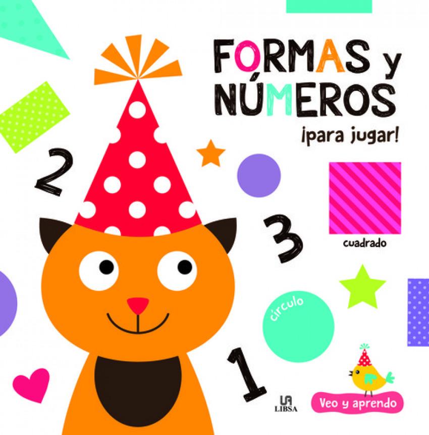 FORMAS Y NUMEROS PARA JUGAR 9788466238168