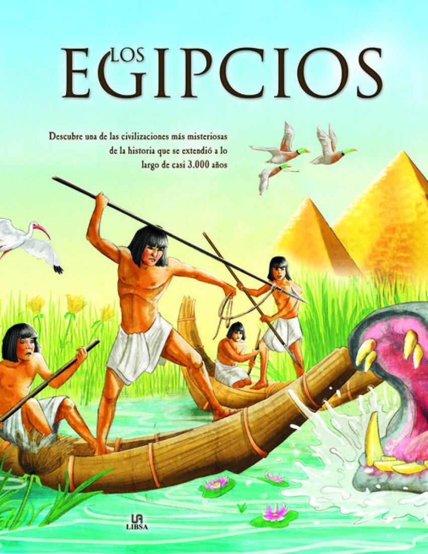 LOS EGIPCIOS 9788466238830