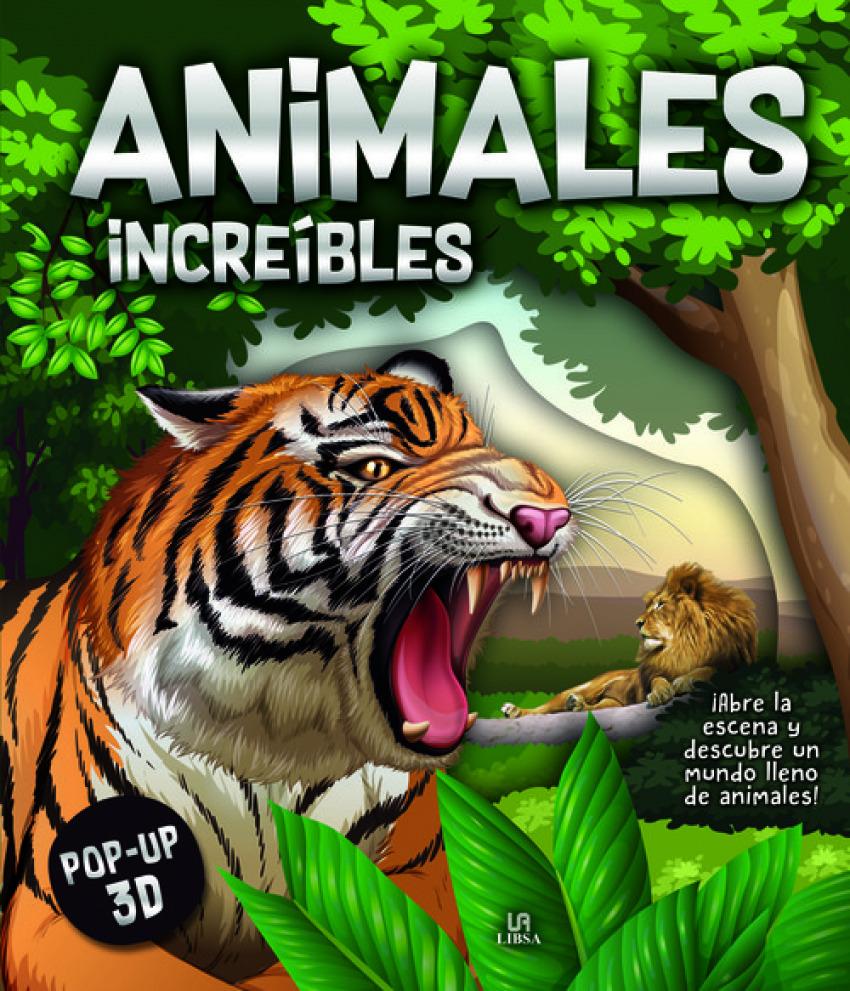 Animales Increíbles 9788466239462