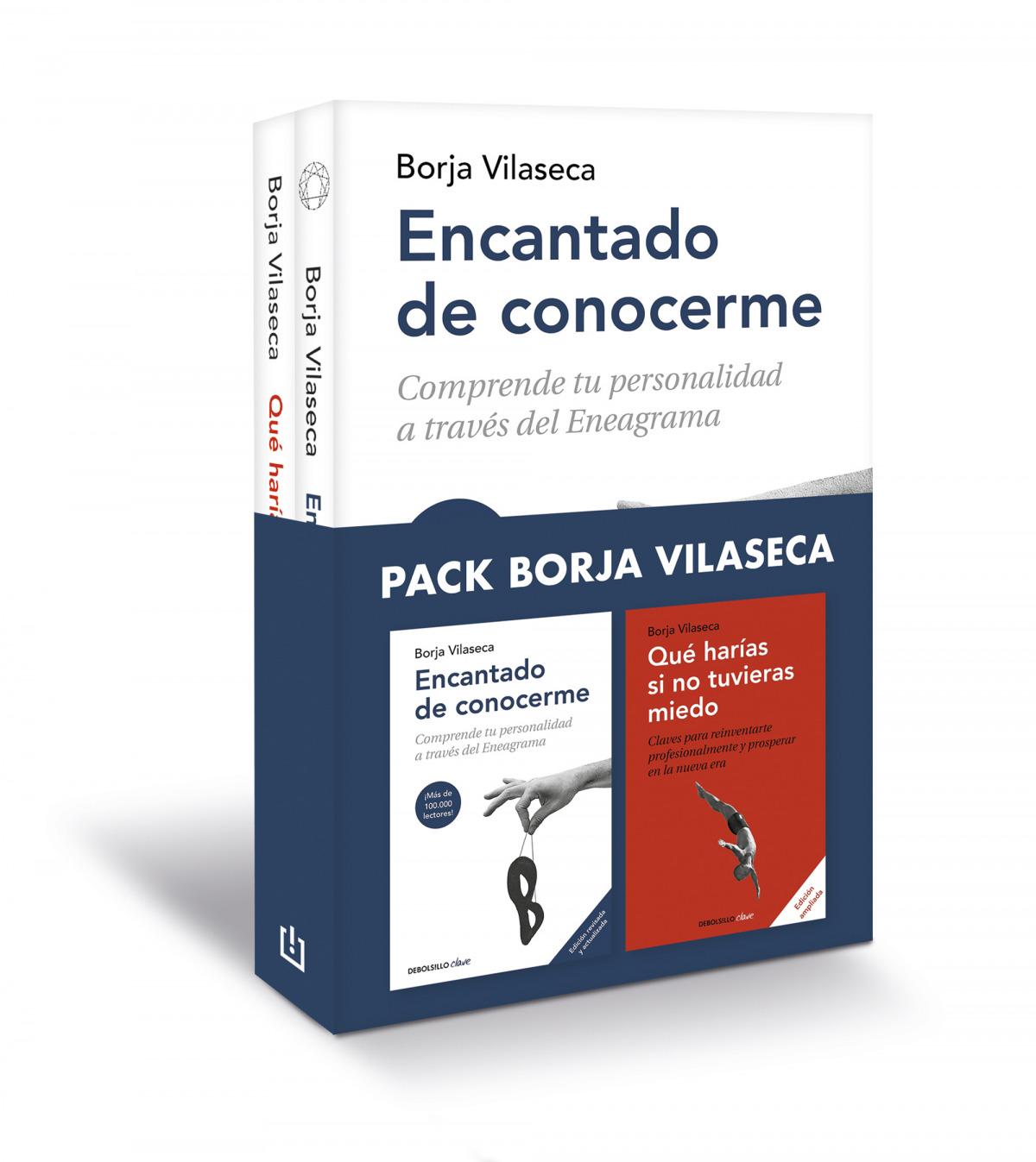 Pack Borja Vilaseca (contiene: Encantado de conocerme , Qué harías si no tuvieras miedo)