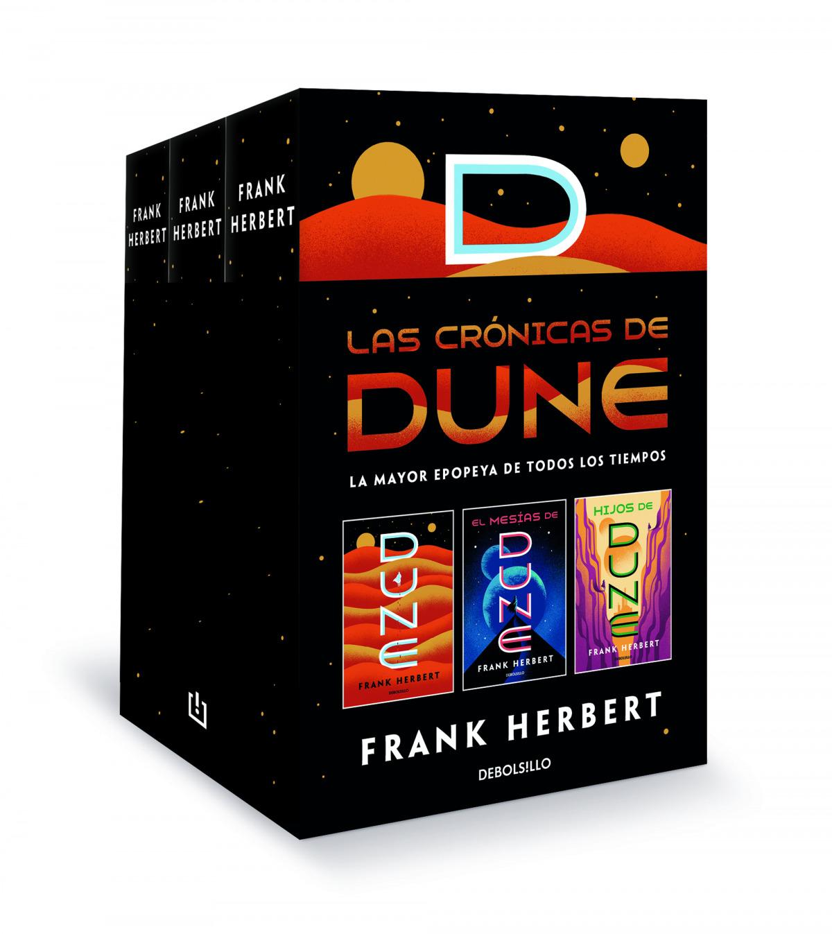 Las crónicas de Dune (pack con: Dune , El mesías de Dune , Hijos de Dune)