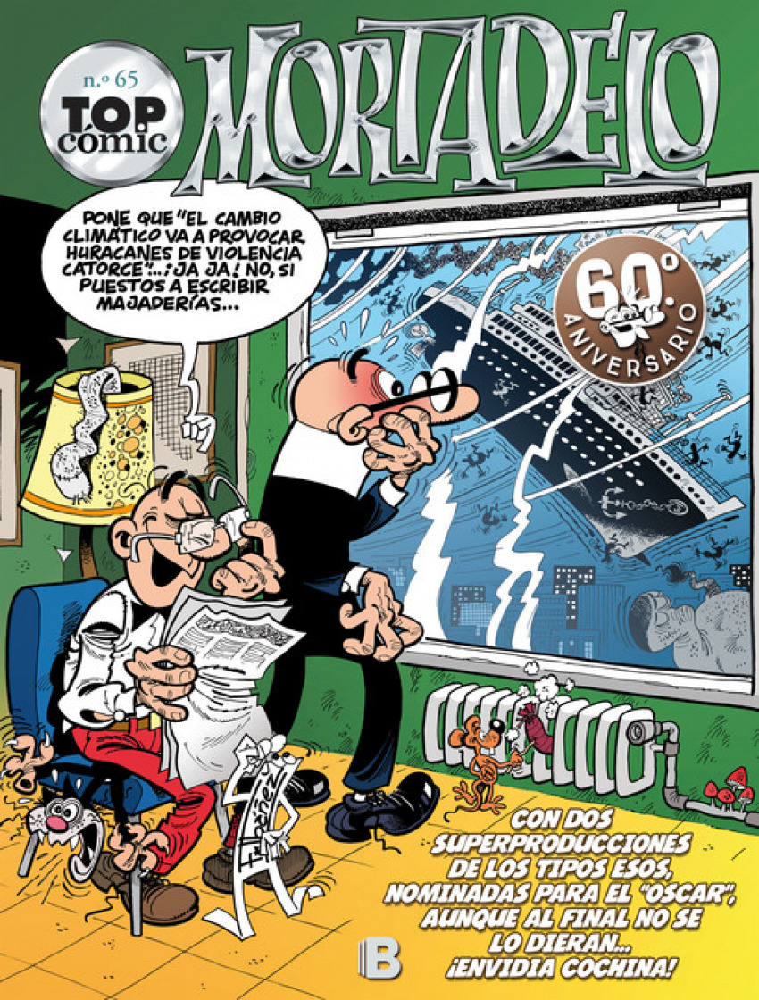 TOP CËMIC MORTADELO 65 9788466662796