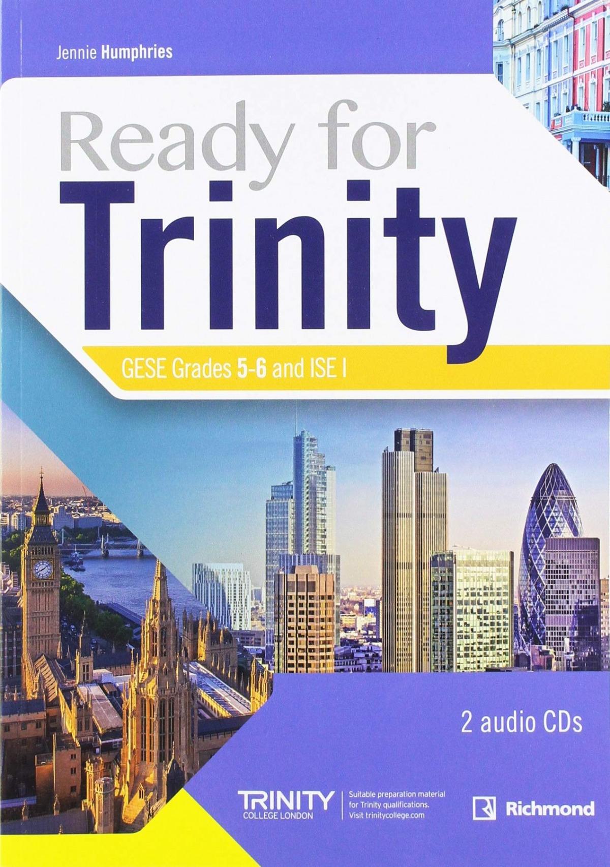 READY FOR TRINITY GESE GRADE 5-6 SB PACK