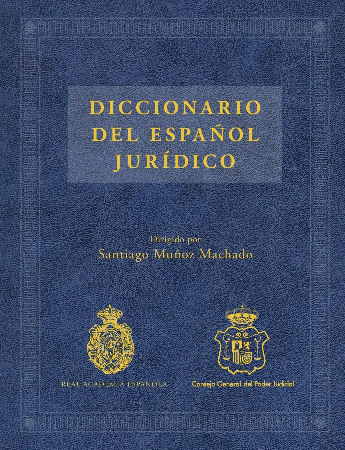 Diccionario del español juridico