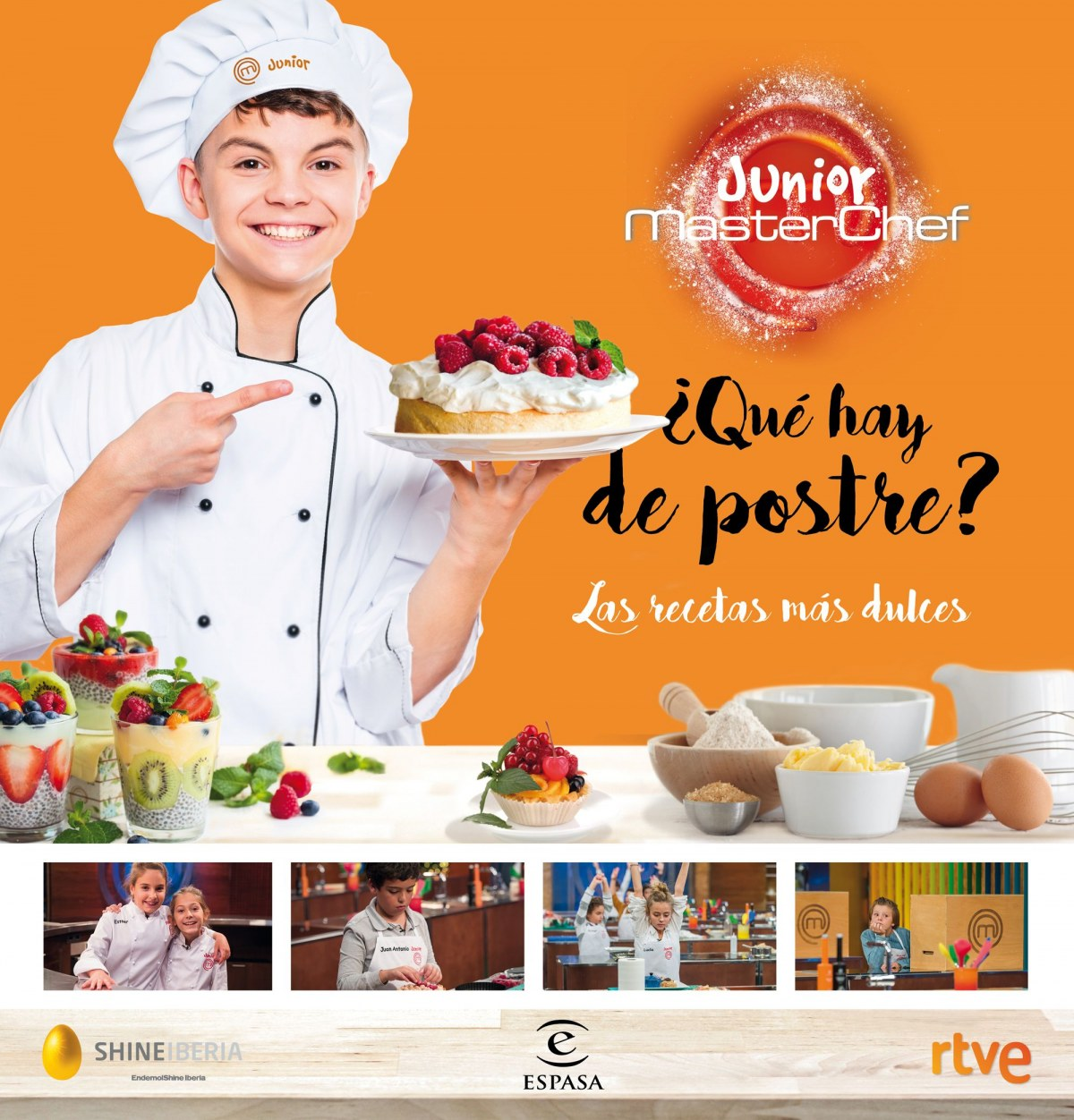 QUE HAY DE POSTRE MASTERCHEF JUNIOR