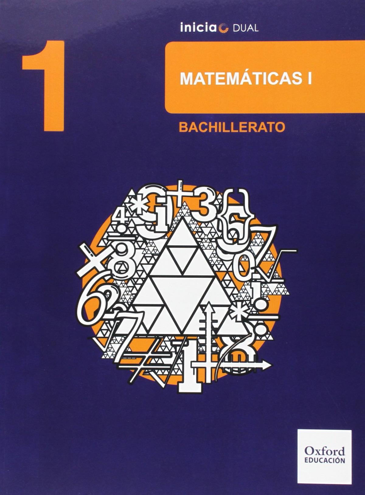 Matemáticas Ciencias Naturales 1.o. Bachillerato Inicia Dual. 9788467394412