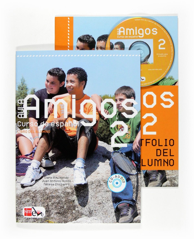 Pack aula amigos 2 internacional alumno