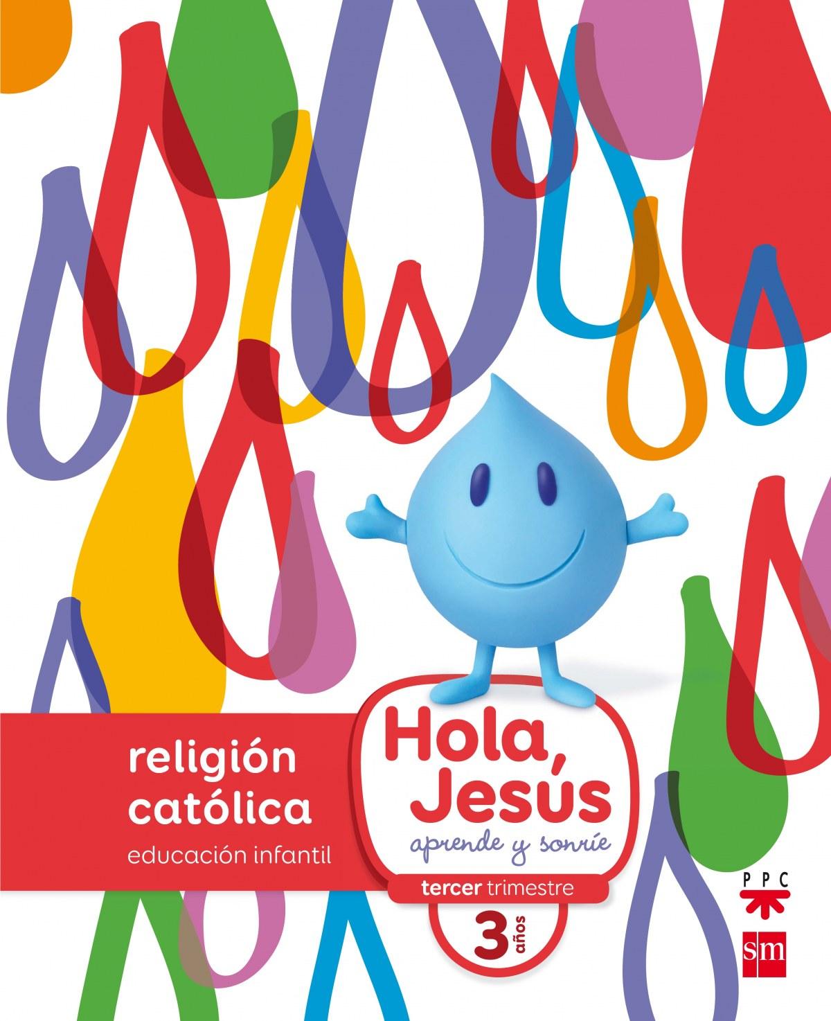 hola jesus 3 años religión infantil 9788467587265