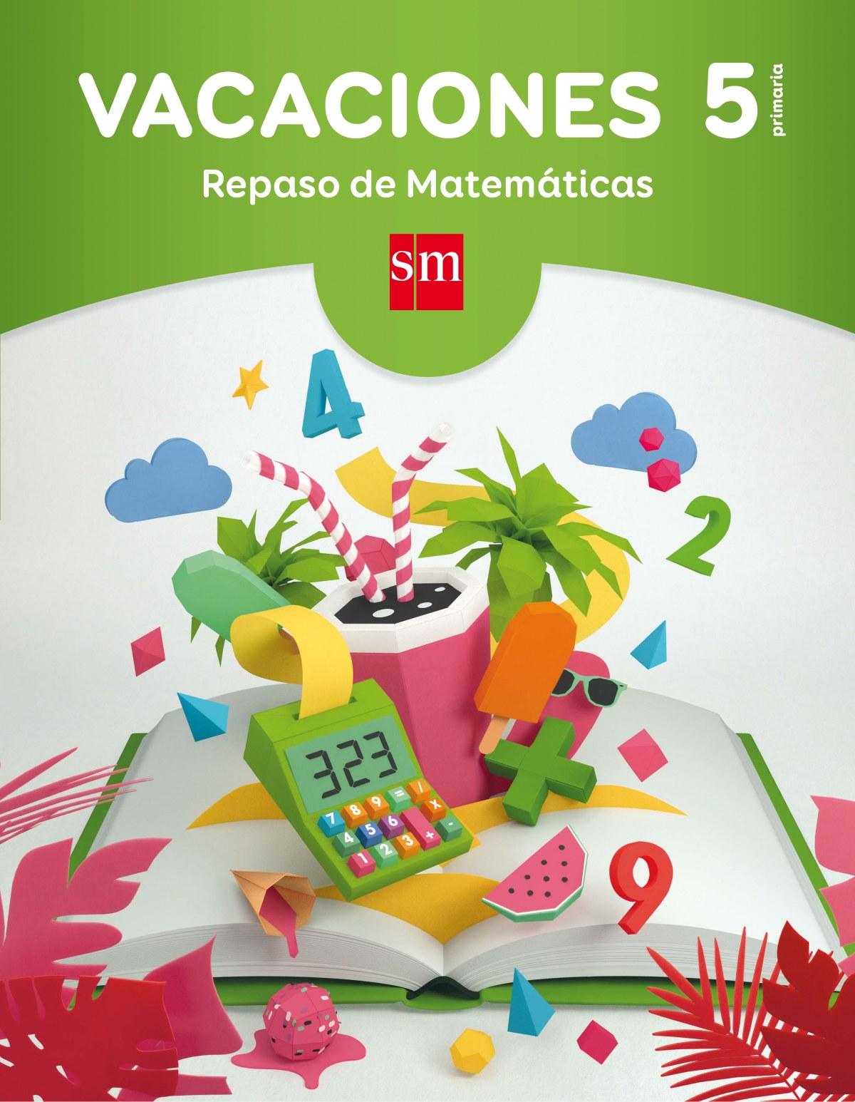 VACACIONES 5º PRIM REPASO MATEMATICAS