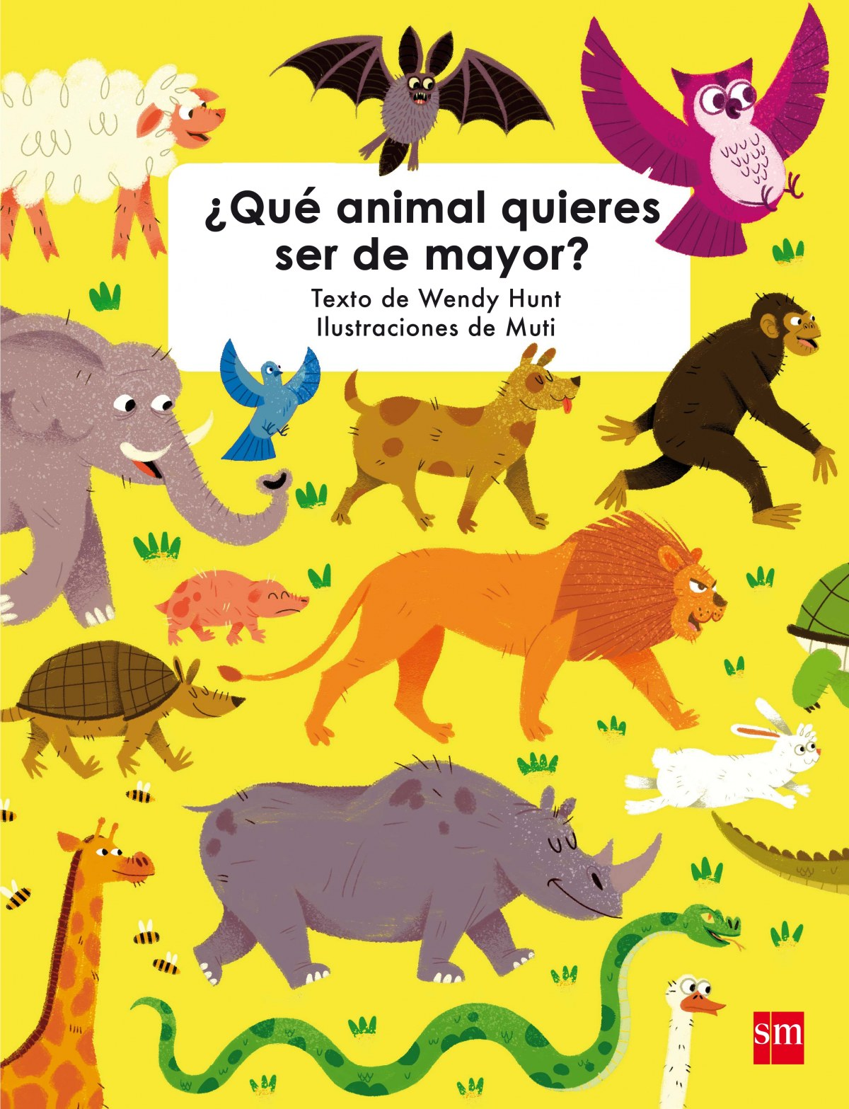 QUE ANIMAL QUIERES SER DE MAYOR