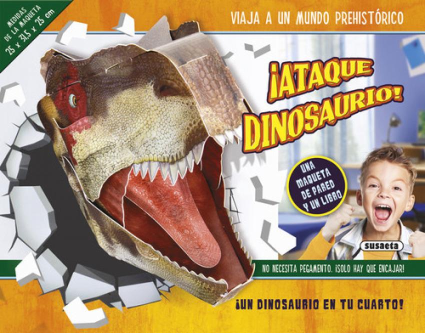 ¡Ataque dinosaurio!