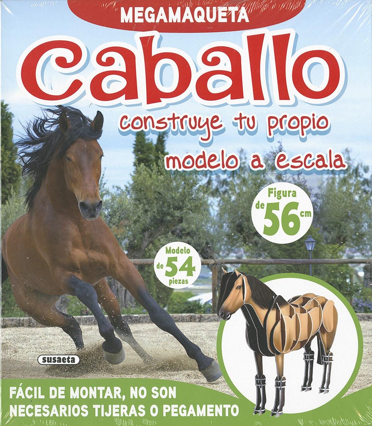 CABALLO, CONSTRUYE TU PROPIO MODELO A ESCALA