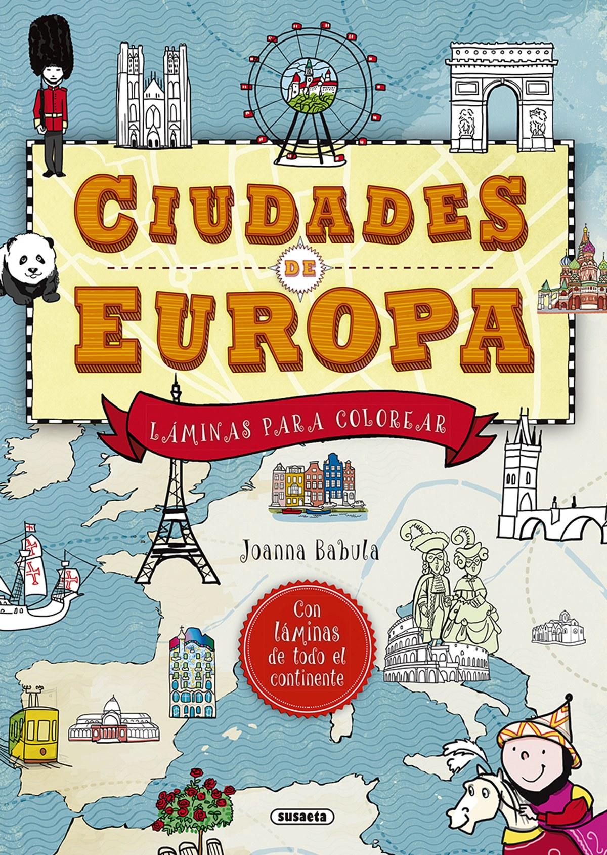 CIUDADES DE EUROPA 9788467758115