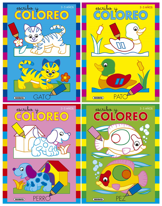 ESCRIBO Y COLOREO 9788467762068