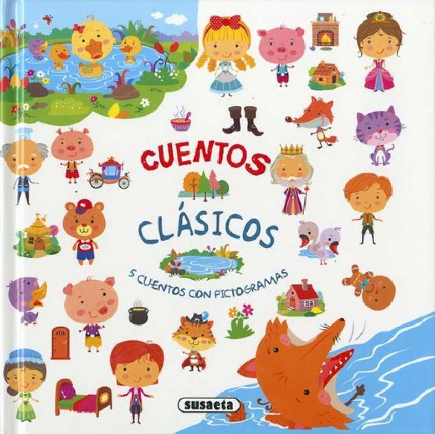PATITO FEO/TRES CERDITOS/EL HOMBRE DE JENGIBRE/EL GATO CON BOTAS/LOS MÚSICOS DE BREMEN