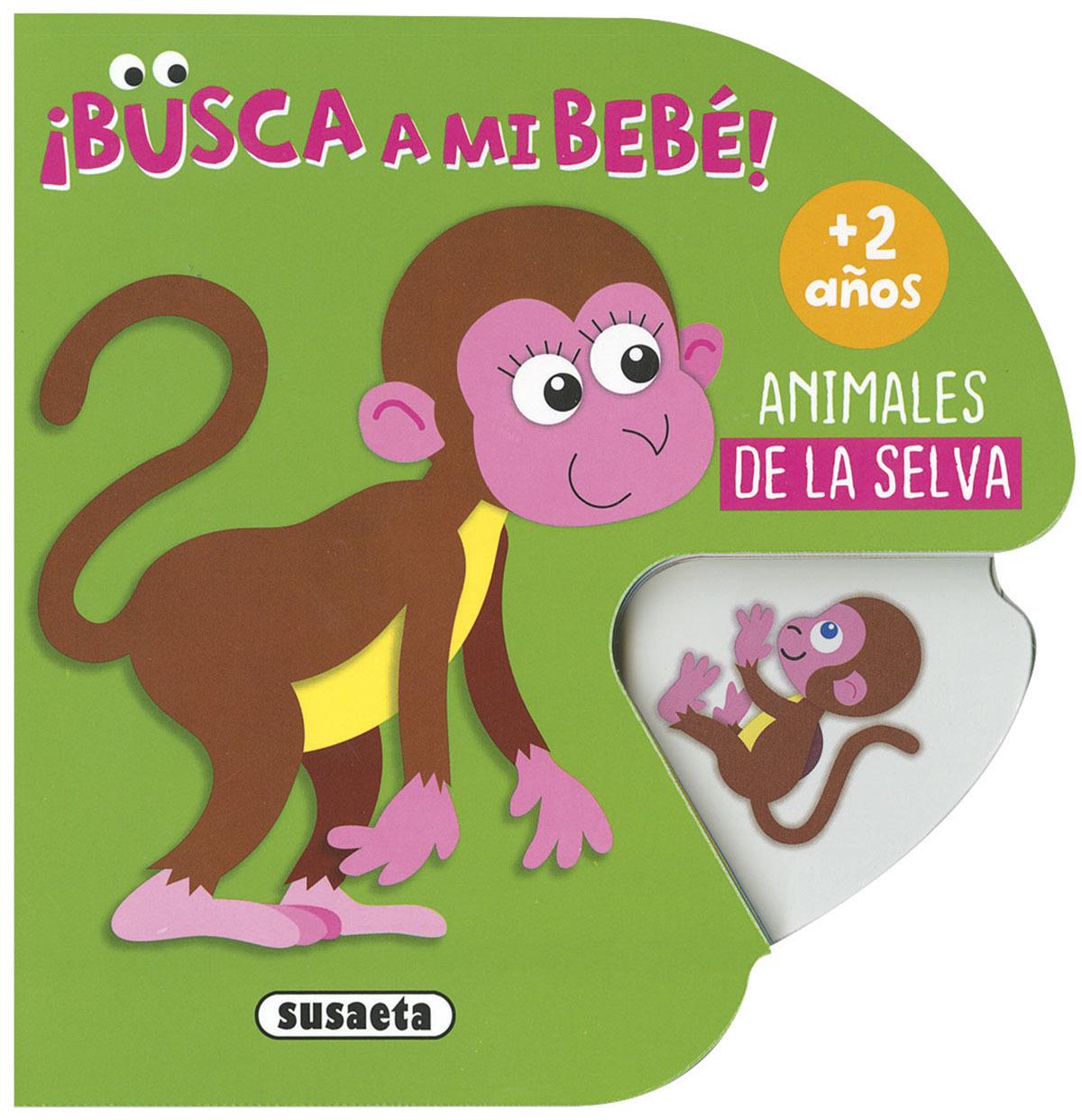 ANIMALES DE LA SELVA 9788467765830