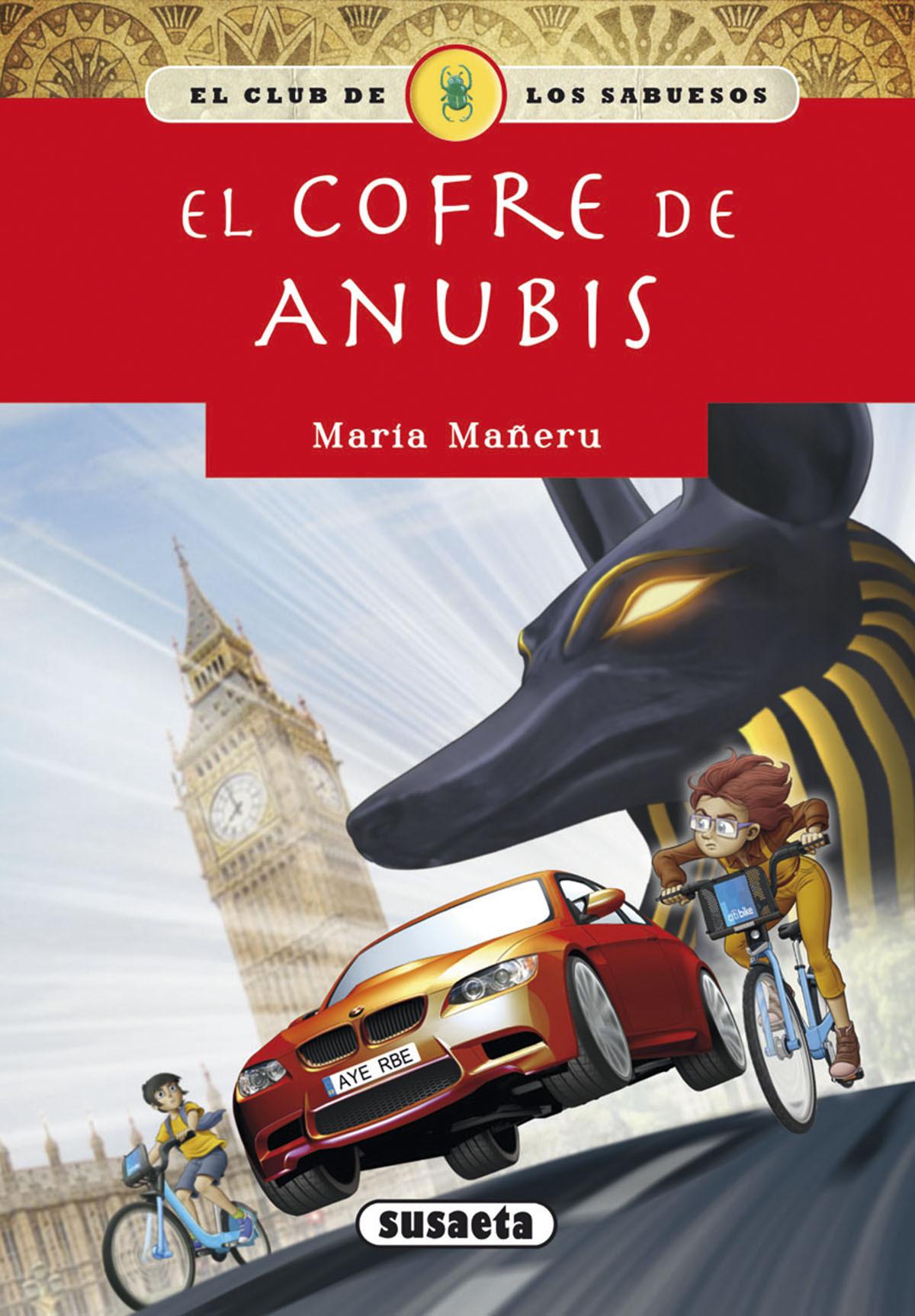 EL COFRE DE ANUBIS 9788467766240