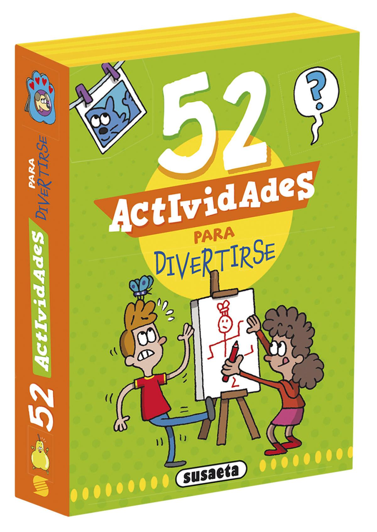 BARAJA VERDE 52 JUEGOS DIVERTIDOS