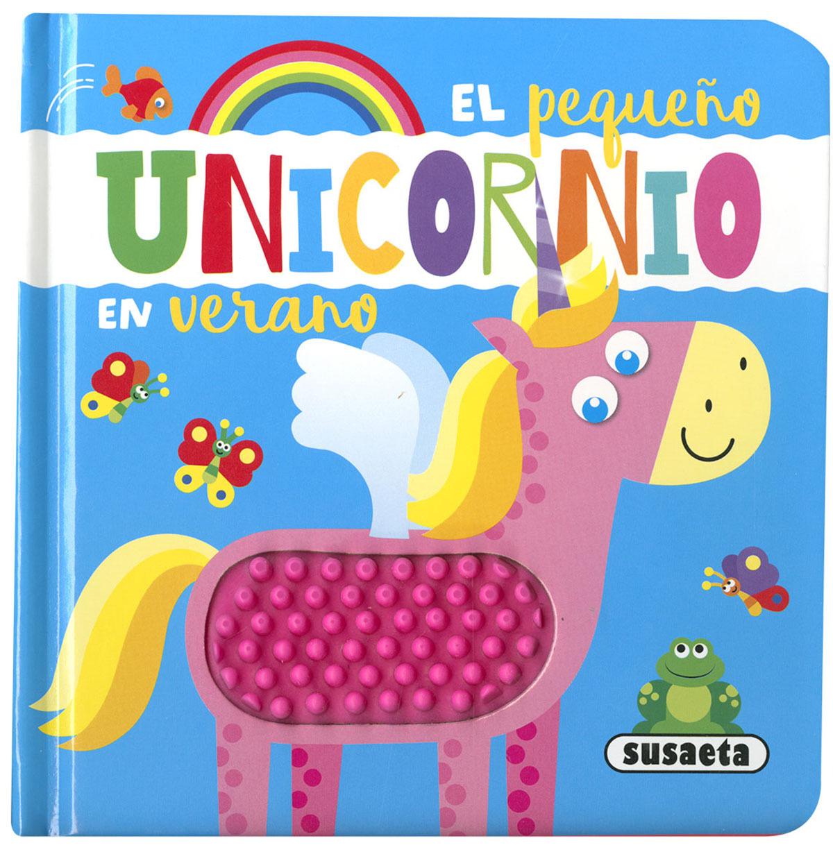El pequeño unicornio en verano