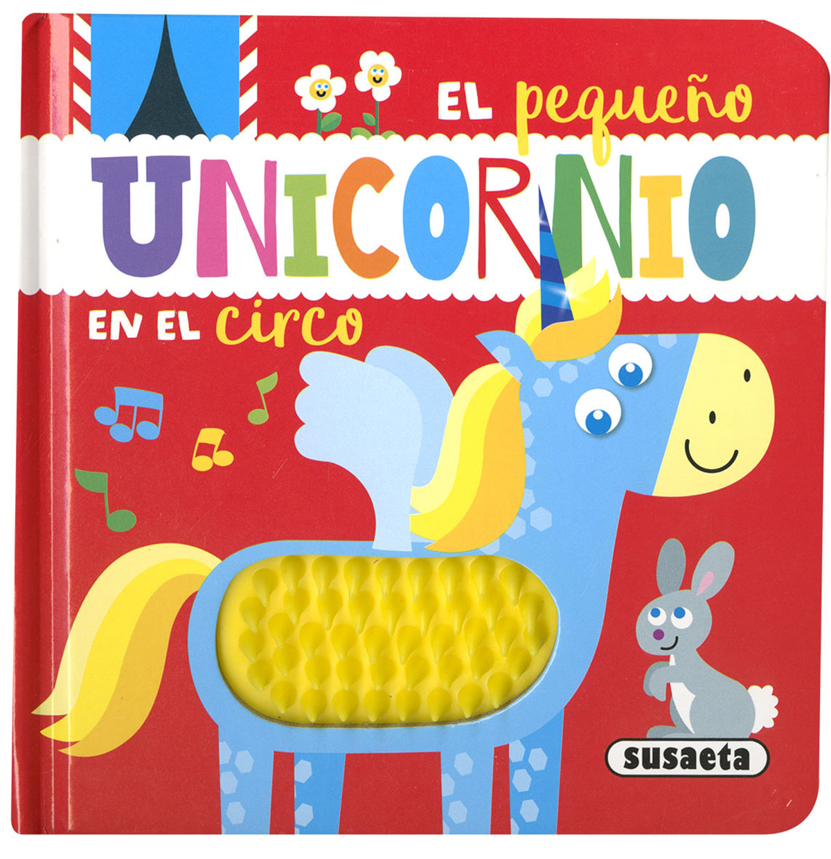 El pequeño unicornio en el circo