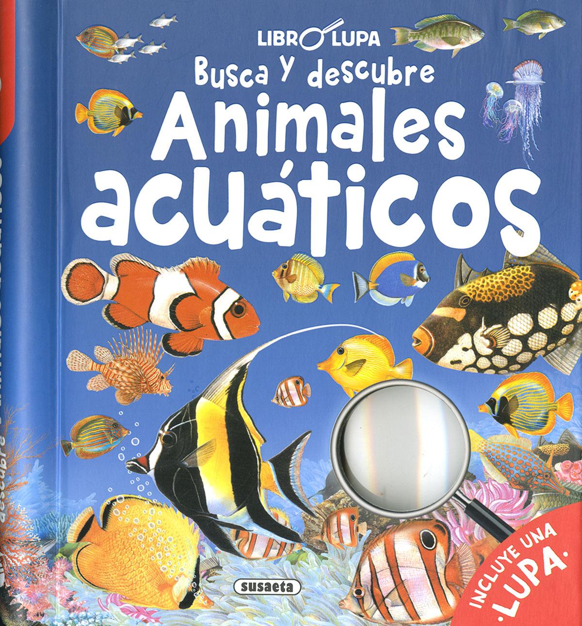 Busca y descubre animales acuáticos