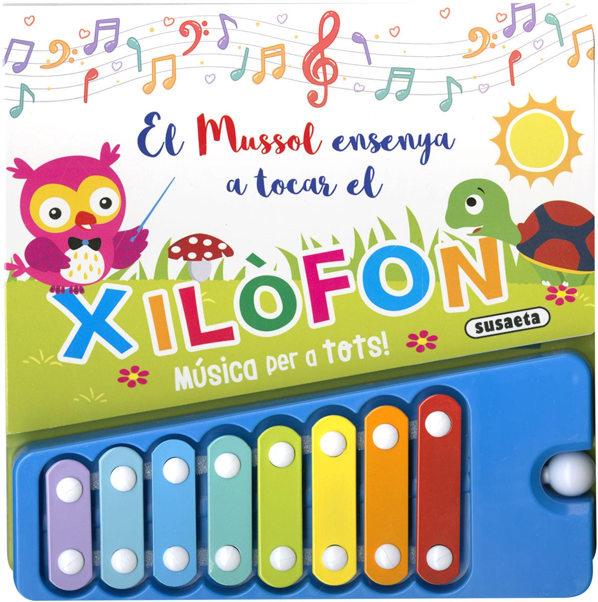 El mussol ensenya a tocar el xilofòn
